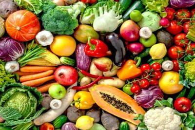 Verduras, Frutas y Setas