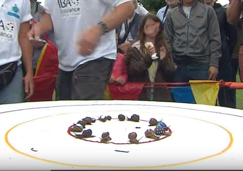 Mundial Carrera caracoles